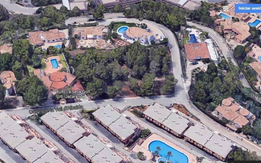 Bouwgrond met zeezicht te koop in Denia, Alicante, Costa Blanca