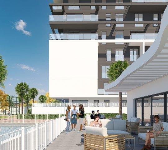 Nieuwe luxe promotie van innovatief ontworpen appartementen in Calpe