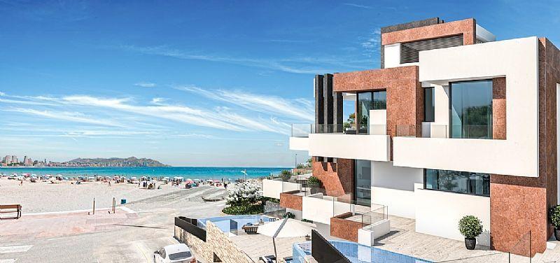 Appartement te koop op de eerste lijn van Playa Poniente - Benidorm