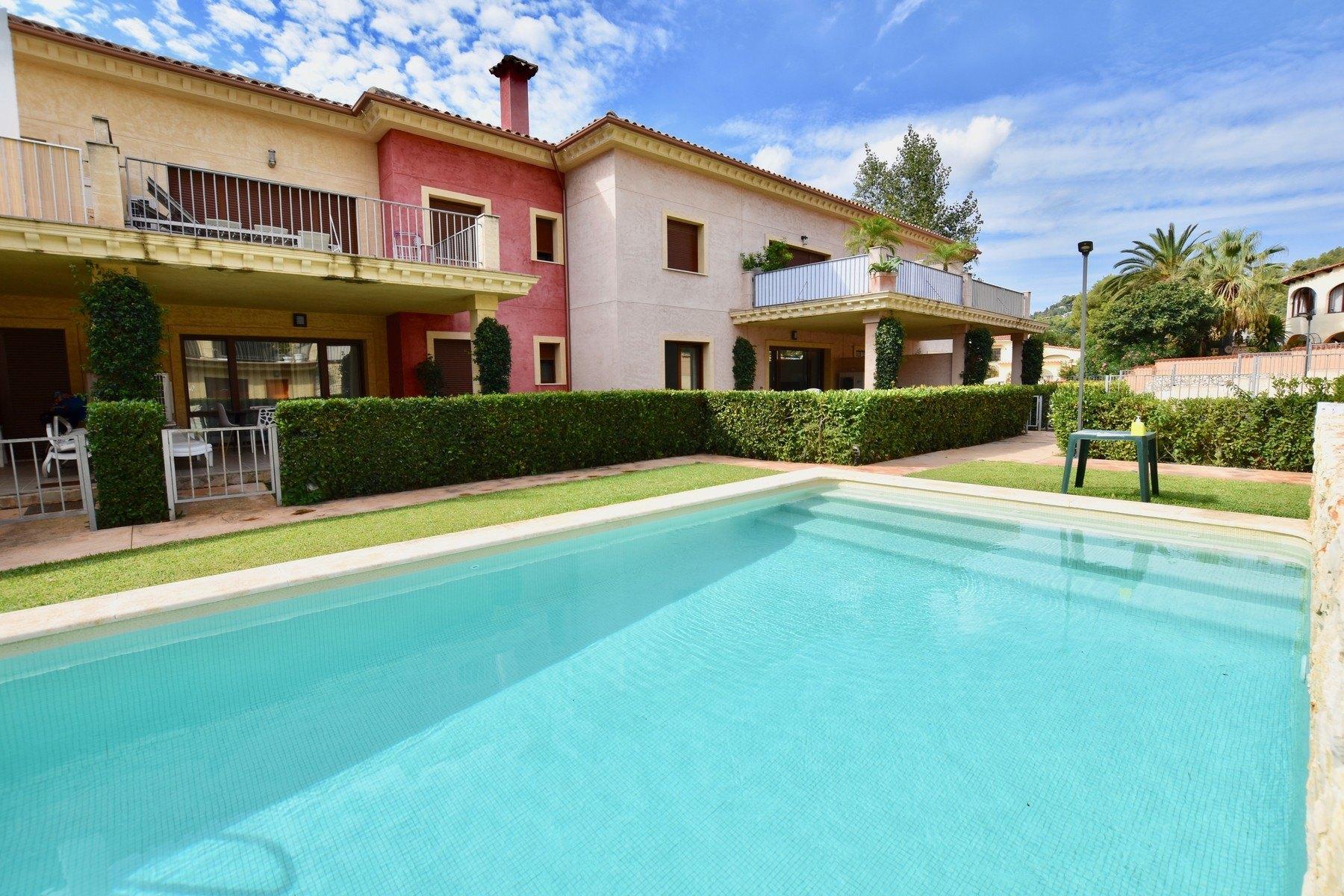 Prachtig appartement met 2 slaapkamers in Urbanisatie Jardines de Montemar in Moraira - Costa Blanca