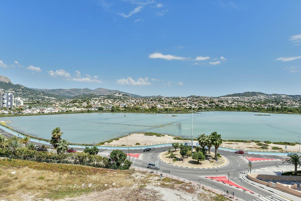 Nieuwbouw appartement te koop in Calpe met uitzicht op zee - Costa Blanca