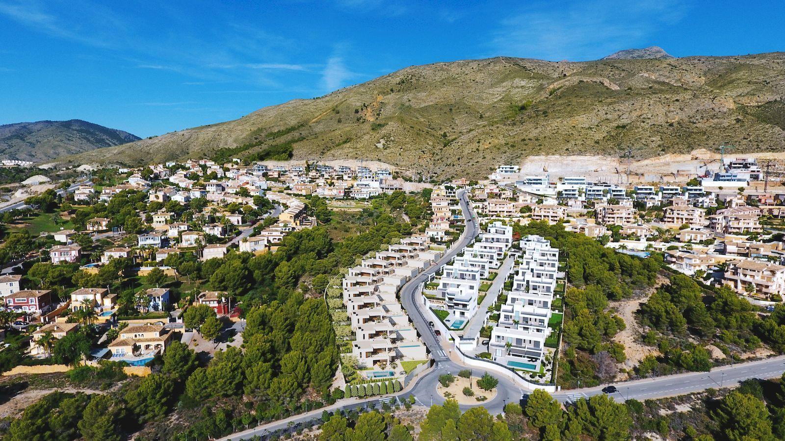 Moderne luxe villa te koop in Finestrat Hills - Benidorm