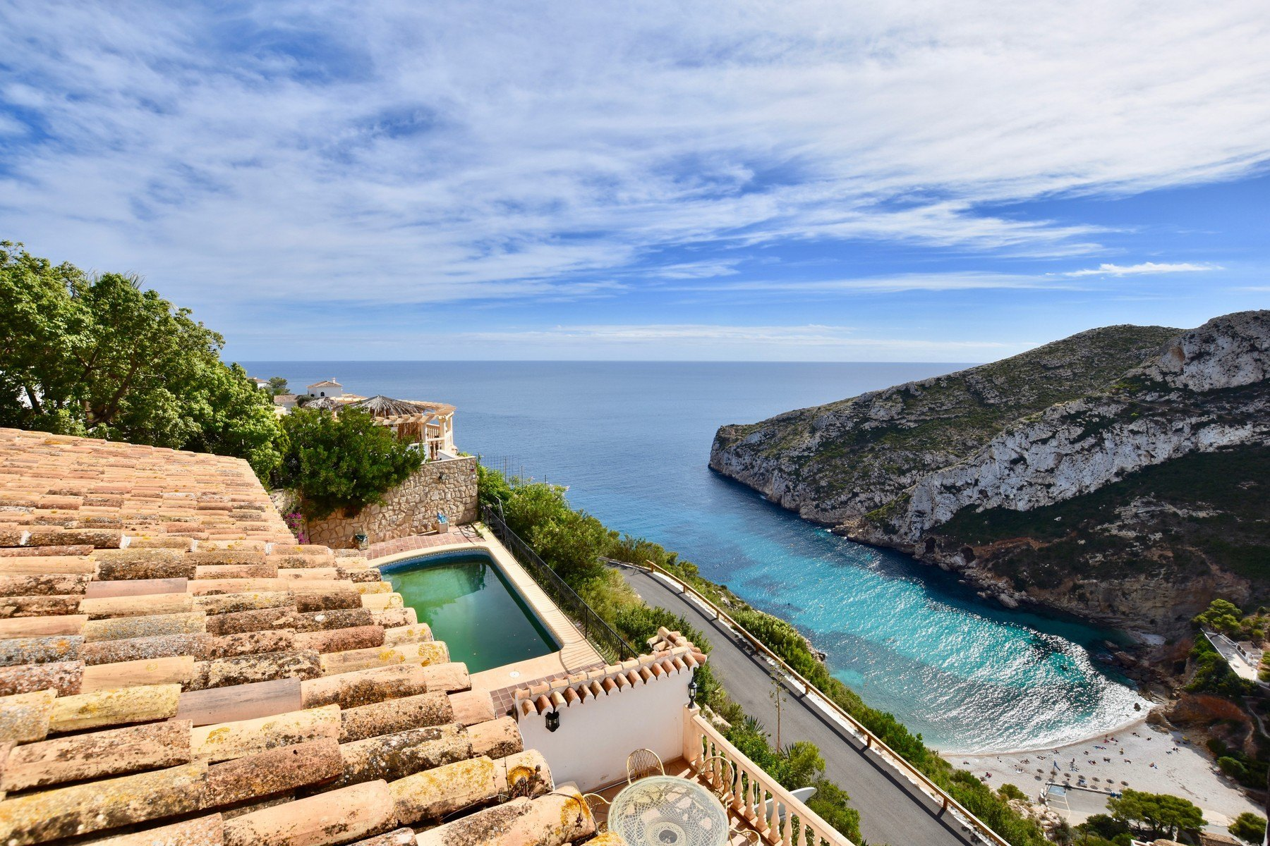 Villa te koop in Cala de la Granadella met zeezicht - Javea - Costa Blanca